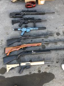 Arsenal Of Suspected Black Market Assault Rifles Seized In Bay Area - Local Records Office