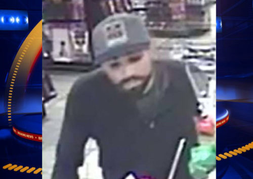 Police looking for suspect in Las Vegas adult store robbery
