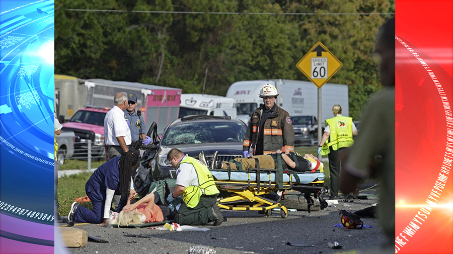 Wrong-way driver kills two people and injures several on Highway 101 in San Francisco
