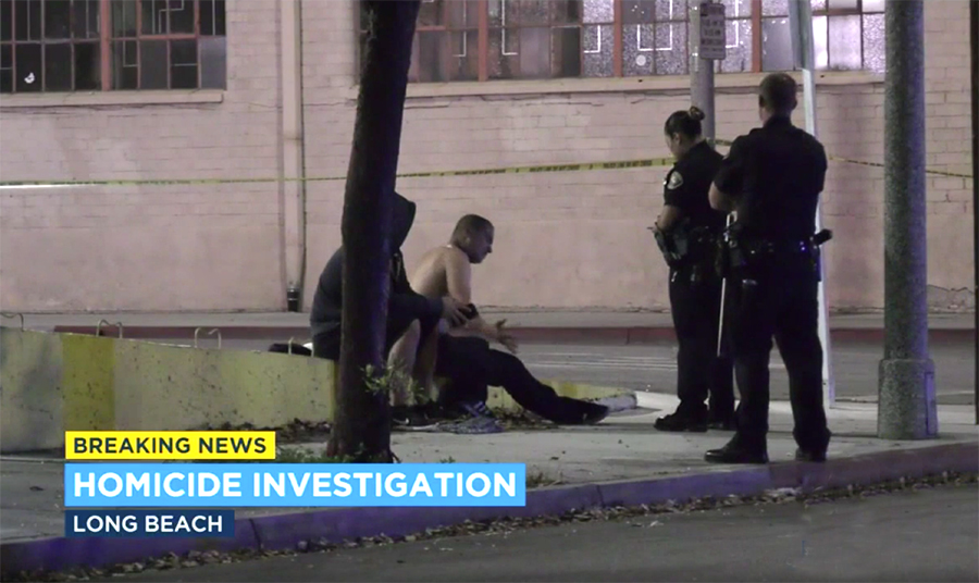 Man is shot and killed in east Long Beach, CA while riding a bike (VIDEO)