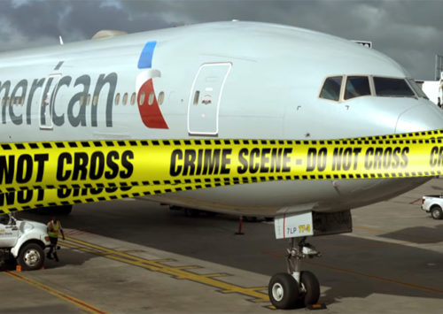 Explosive scare on American Airlines flying from Philadelphia to Boston