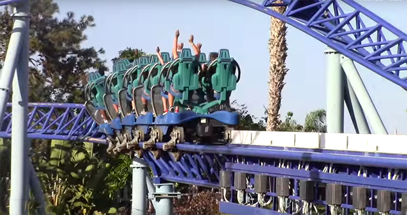 """SeaWorld San Diego to debut """"Mako"""" California's tallest, fastest, and longest dive roller coaster in 2020"""