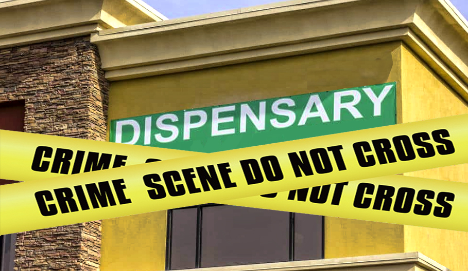 Authorities shut down two Valley Center marijuana dispensaries seizing their stock and arresting workers