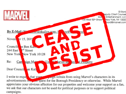 Rep Ben Kallos running for Manhattan borough president, received cease-and-desist letter after wearing Captain America costume