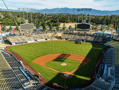 Dodger stadium is now the largest COVID-19 testing site in the country