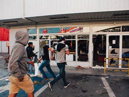 Los Angeles looters target high-end stores