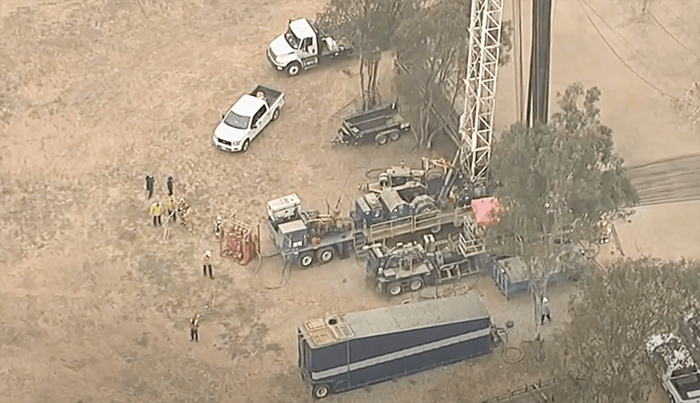 A chemical spill that bled for nearly 2 hours caused sweeping odors in portions of LA and OC (VIDEO)
